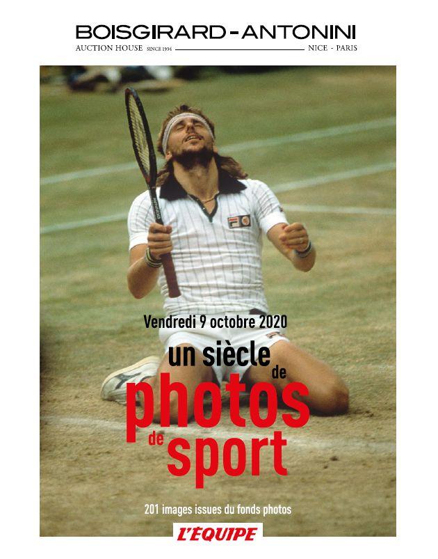 Auction Un Siècle de Photos de Sport at Boisgirard Antonini Paris : 221 lots