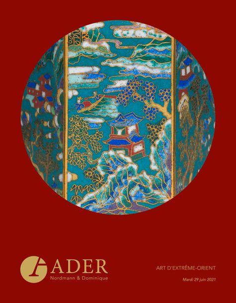 Vente Art d'Extrême-Orient chez Ader : 274 lots