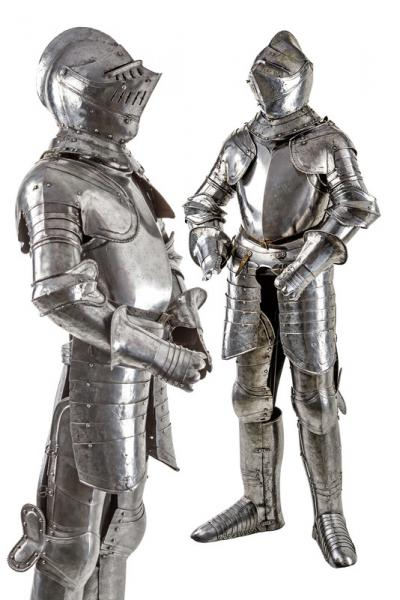 A full man at arms armor  - dating: last quarter of the 16th Century  - provenance:[...]