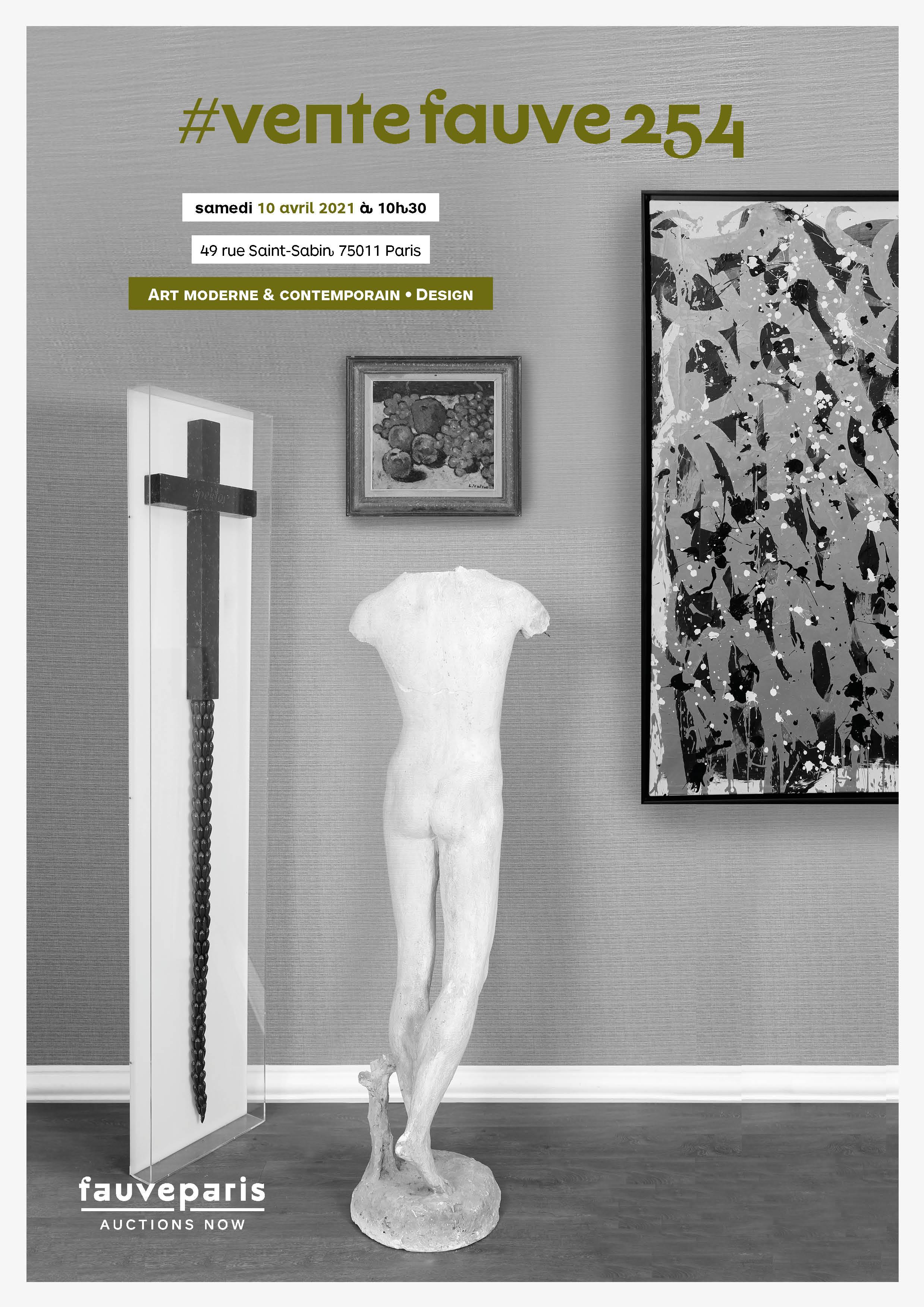 Vente Art Moderne & Contemporain • Design chez FauveParis : 84 lots
