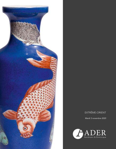 Vente Arts d'Extrême-Orient chez Ader : 267 lots