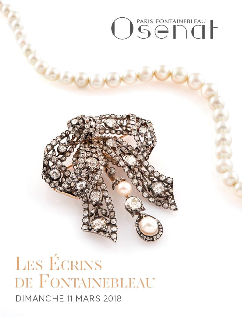 Vente Les Ecrins de Fontainebleau, Bijoux & Montres de Collection chez Osenat : 231 lots