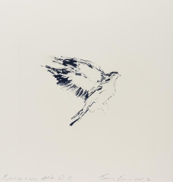 Tracey Emin (b.1963) Bird on a Wing After DB