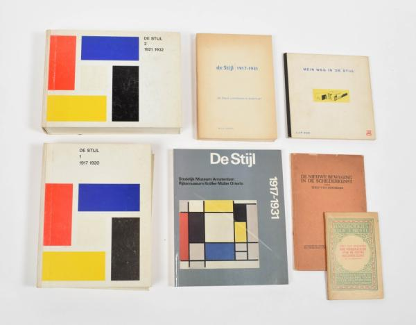 [Fine arts: 20th century] De Stijl - De Stijl 1 & 2: 1917-1920 and 1921-1932. [...]