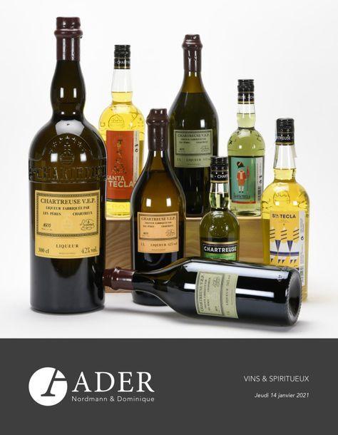 Vente Vins & Spiritueux chez Ader : 401 lots