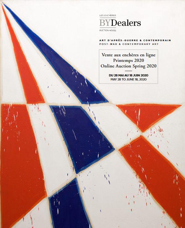 Vente Art d'Après-Guerre & Contemporain Printemps 2020 chez Les Enchères BYDealers Auction House : 62 lots