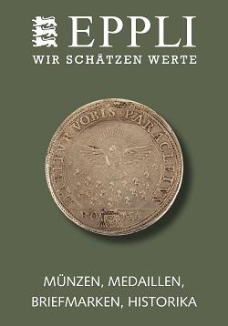 Vente EPPLI MÜNZAUKTION chez Eppli Münzhandel & Auktionen : 244 lots