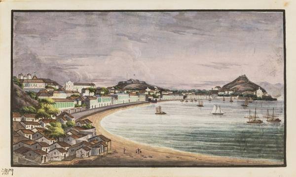 China.- Chinese Export School (circa 1830s) A souvenir album with 53 fine original [...]