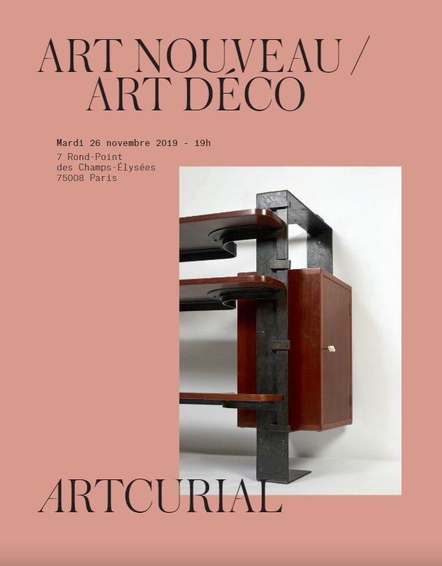 Vente Art Nouveau & Art Déco chez Artcurial : 142 lots