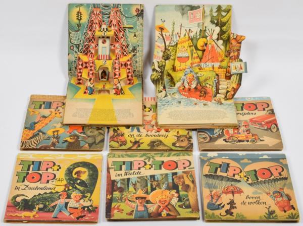 Children S Books Pop Up Lot With 8 Tip Top 1961 1965 Vojtech Kubasta Lot 29 Vente 21 Livres Bd Photographie Beaux Arts Et Affiches Partie 1 At Zwiggelaar Auctions Auction Fr English