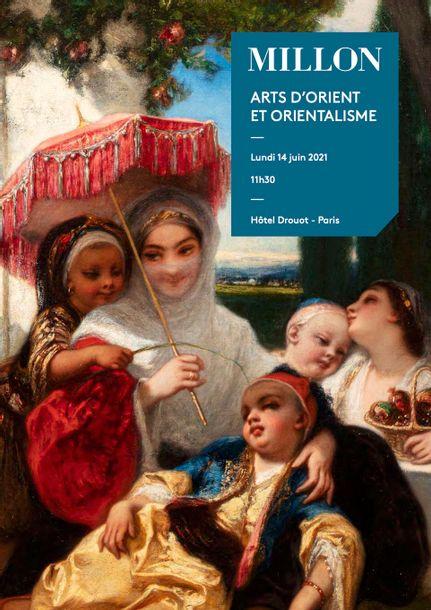 Vente Archéologie, Art d'Orient, Orientalisme, Art de l'Inde chez Millon et Associés Paris : 390 lots