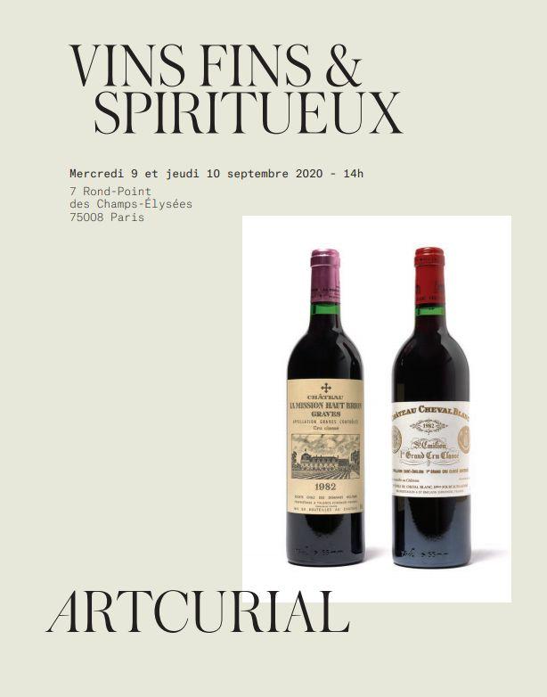 Vente Vins fins & Spiritueux - Vacation 1 chez Artcurial : 418 lots