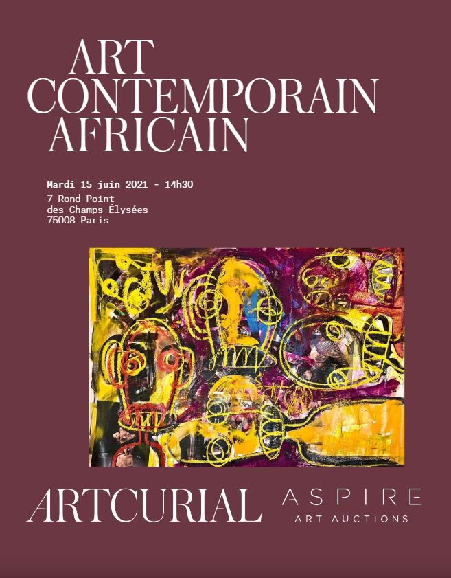 Vente Art Contemporain Africain chez Artcurial : 232 lots