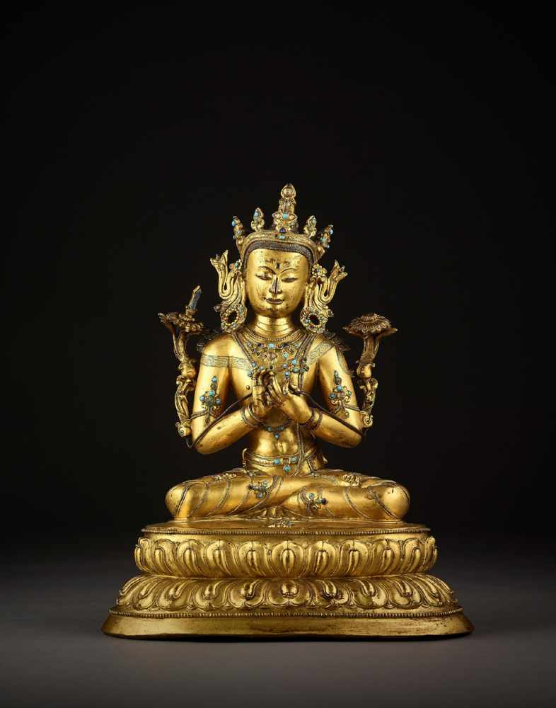 Vente Fine Chinese Art, Buddhism and Hinduism chez Galerie Zacke : 392 lots