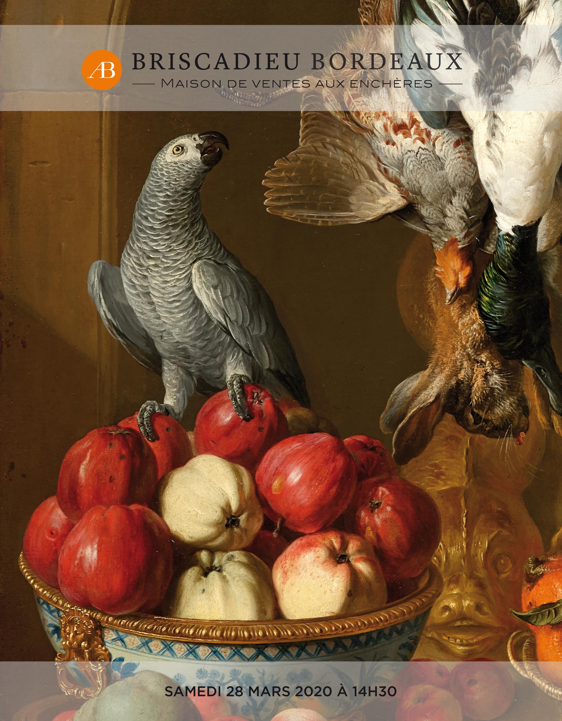 Vente Tableaux, Mobilier et Objets d'Art du XVIIème au XXème chez Briscadieu Bordeaux : 236 lots
