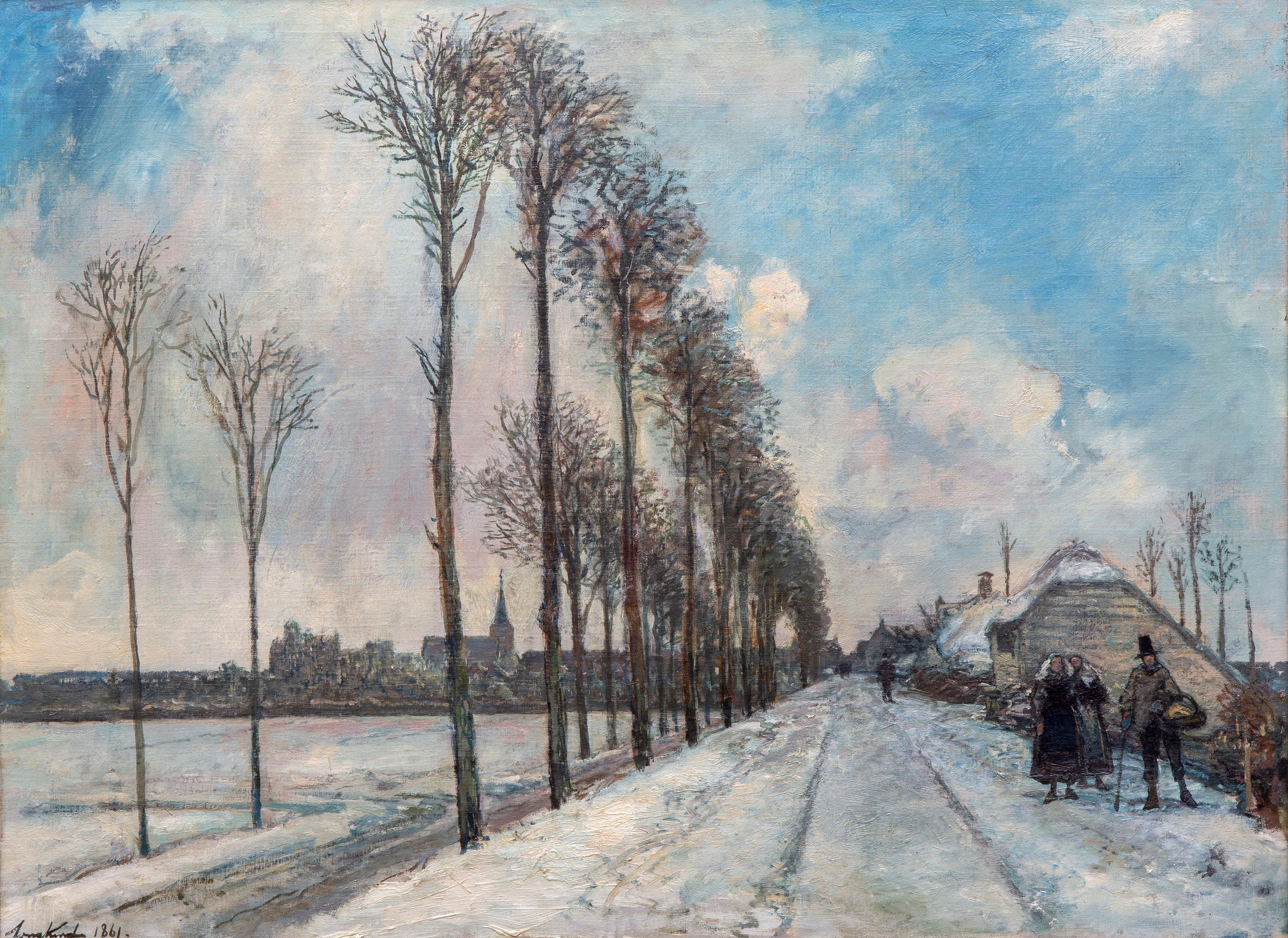 Vente  Peintures de maîtres anciens, XIXe siècle et Art moderne chez Venduehuis der Notarissen te 's-Gravenhage : 160 lots