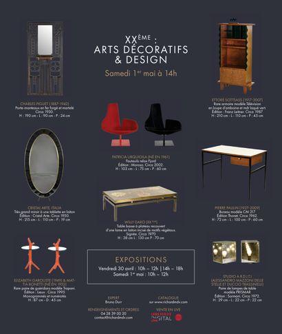 Vente Arts décoratifs et Design chez Maison de ventes Richard : 269 lots