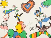 Niki De St Phalle 1930 2002 Lithograph Je T Aime 1971 Lot 94 Affiches Et Photographies Du Xxe Siecle Chez Auctionata Paddle8 Ag Auction Fr