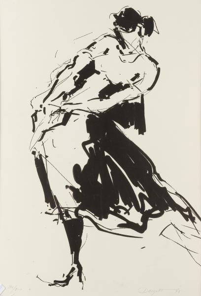 Jean Claude Dauguet 1939 2002 Suite De 8 Lithographies Danseuses De Lot 213 Espagne Et Tauromachie Chez Briscadieu Bordeaux Auction Fr
