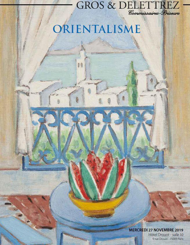 Vente Orientalisme chez Gros - Delettrez : 234 lots