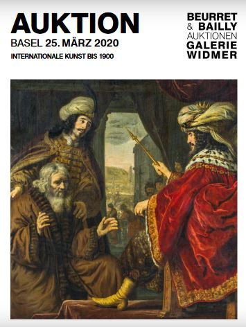 Catalogue De La Vente Art International Avant 1900 A Beurret Bailly Widmer Auktionen Ag Fin De La Vente Le 24 Juin 2020 Auction Fr