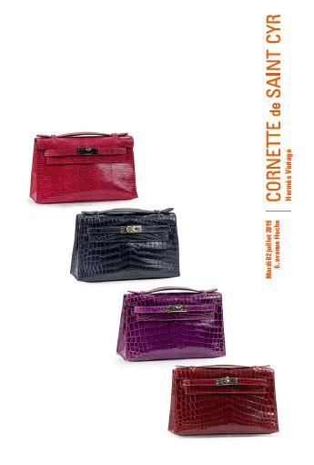 Vente Hermès Vintage chez Cornette de Saint Cyr Paris : 350 lots
