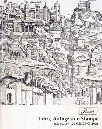 Vente Livres, Autographes & Estampes (Roma) chez Finarte Auctions S.r.l. : 229 lots