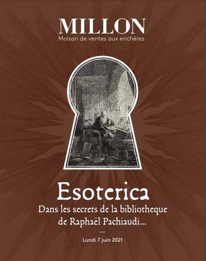 Vente Magie et Alchimie : dans les Secrets de la Bibliothèque de Raphaël Pachiaudi  chez Millon et Associés Paris : 612 lots
