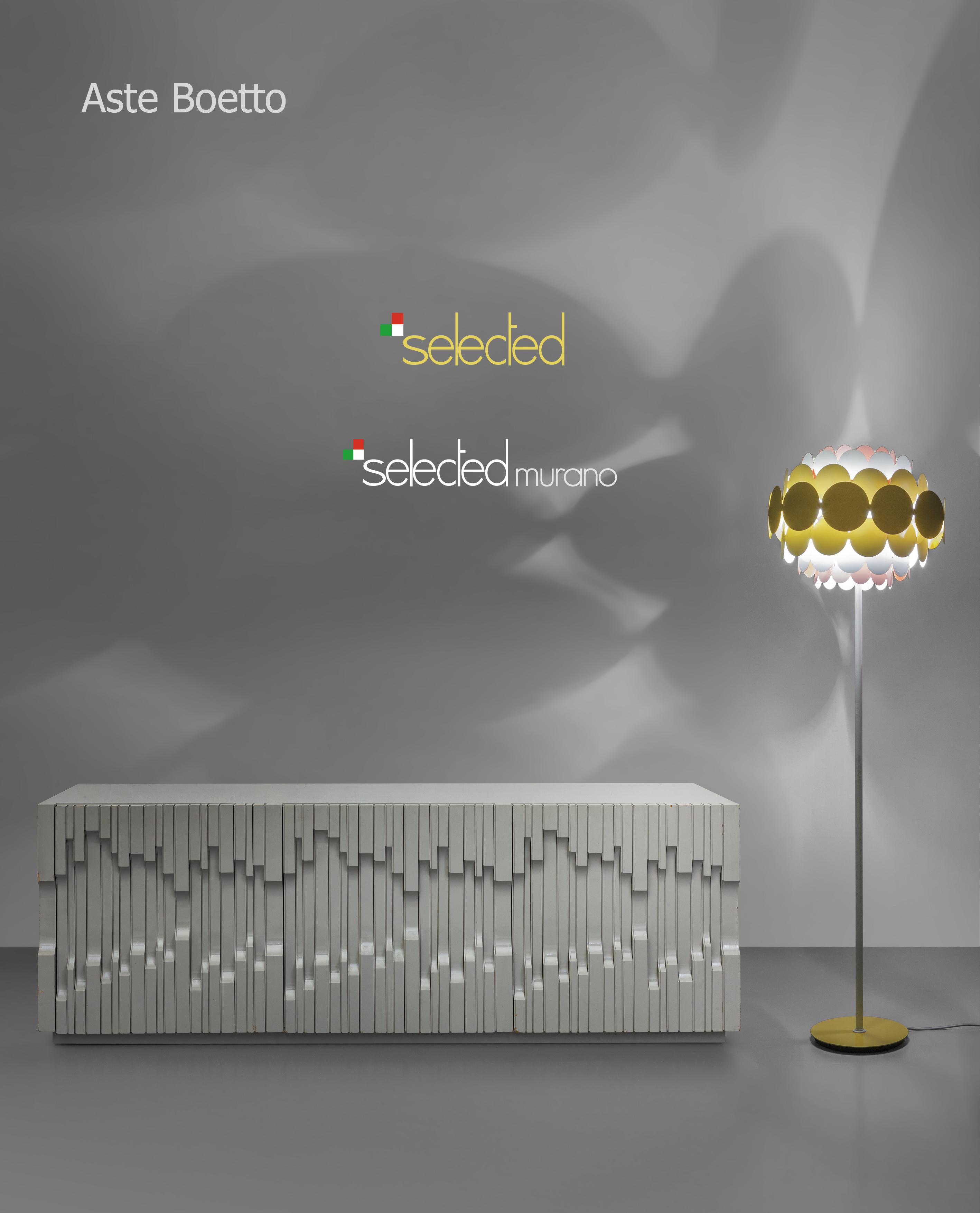 Vente Selected Design & Selected Murano chez Aste di Antiquariato Boetto : 438 lots