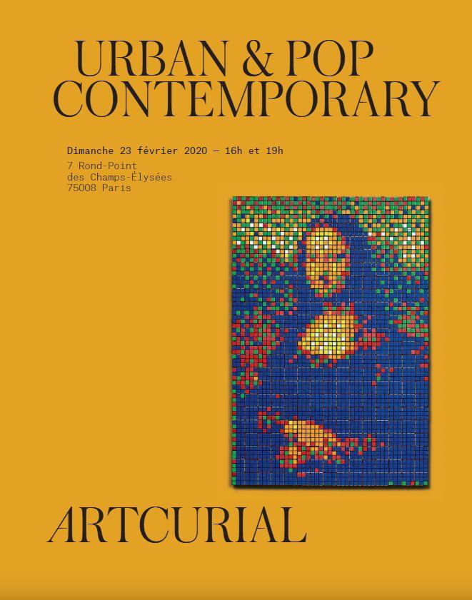 Vente Urban & Pop Contemporary chez Artcurial : 236 lots