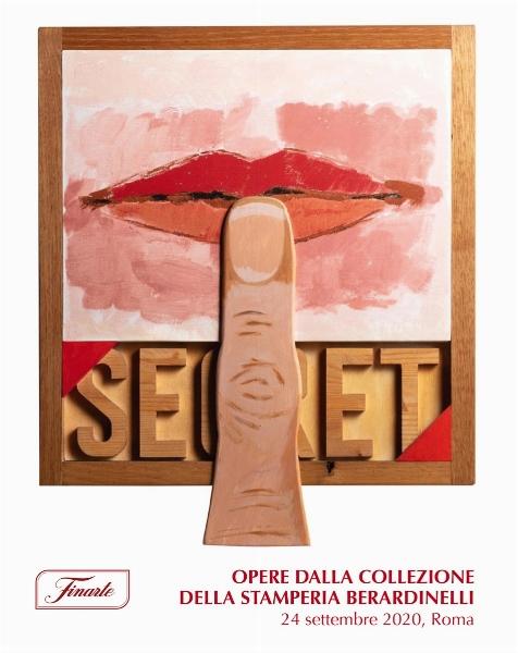 Auction Estampes & Multiples - Oeuvres provenant de la Collection de Stamperia Berardinelli at Finarte Auctions S.r.l. : 180 lots