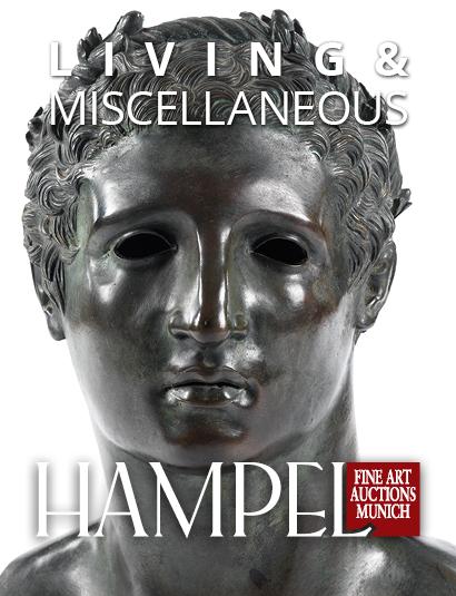 Vente Catalogue VI -   Objets de décoration & de Living : Tableaux 19e et 20e, Art moderne, Art populaire, Divers chez Hampel Fine Art Auctions : 608 lots