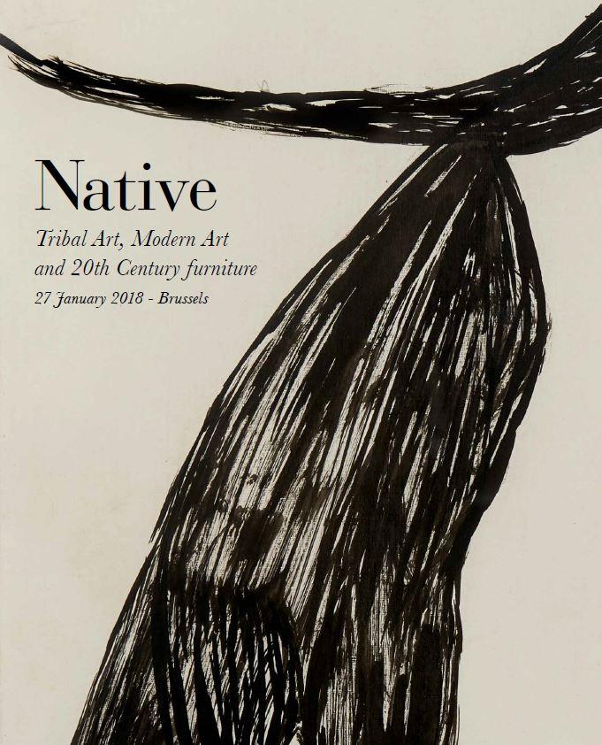 Vente Art Tribal, Art Moderne et Mobilier du XXe siècle chez Native : 142 lots