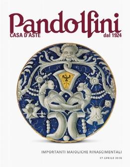 Vente Importantes Majoliques Renaissance (Firenze) chez Pandolfini Casa d'Aste : 66 lots