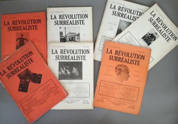 LA REVOLUTION SURREALISTE [Revue] 7 fascicules pour 8 (sur 12 parus), numéros n° 1, [...]