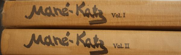 Mane Katz, the complete works, volume I & II, by Robert S. Aries in collaboration [...]