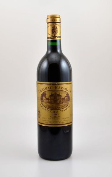 2 Flaschen 1990 Chateau Batailley, Pauillac, Grand Cru Classe, je ca. 75 cl, [...]