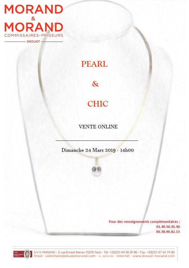 Vente Pearl & Chic chez Morand & Morand : 417 lots