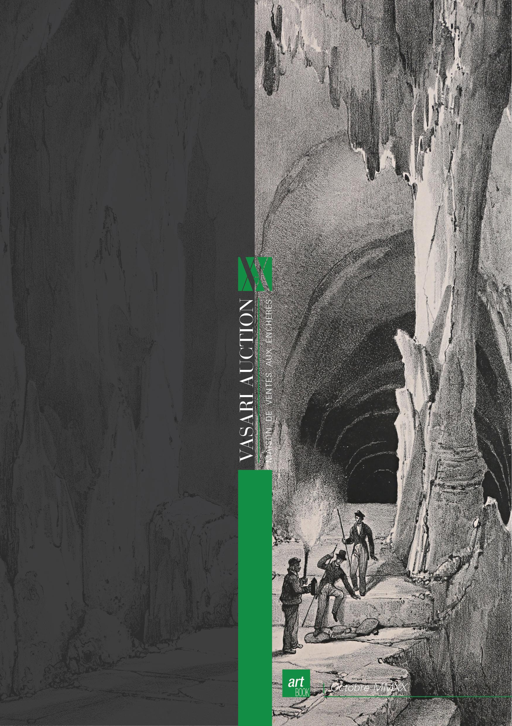 Vente Spéléologie & Montagne - Estampes et Littérature chez Vasari Auction : 269 lots