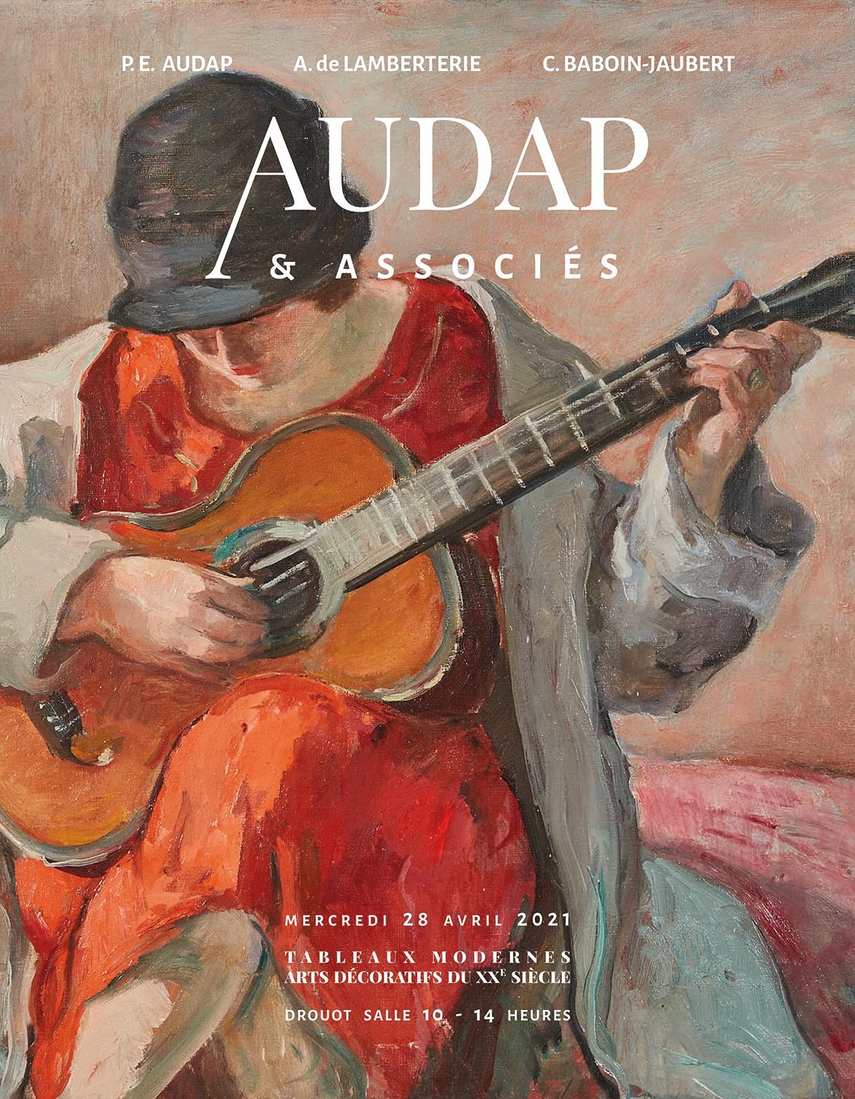 Vente Tableaux modernes - Arts décoratifs du XXe siècle chez Audap & Associés : 204 lots