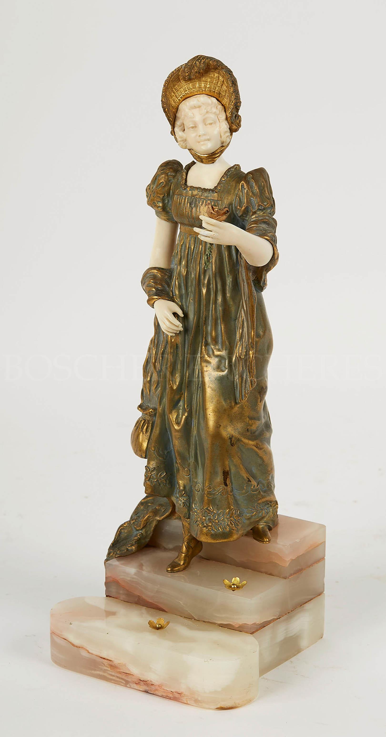 Vente Vente d'objets d'art, d'étains, de bijoux, d'argenterie, de mobilier et de tapis. chez Boscher : 649 lots