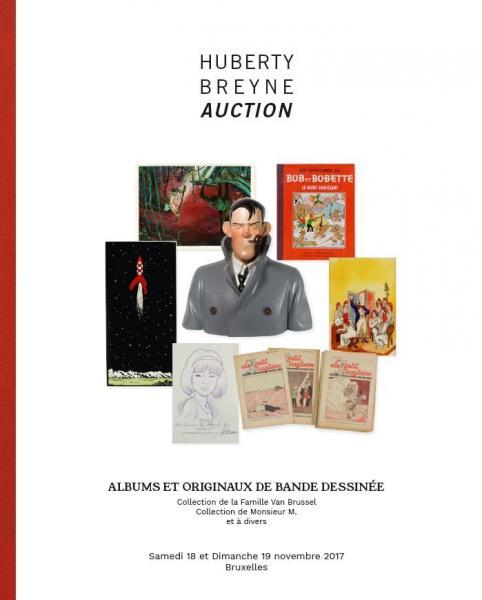 Gut bekannt Catalogue de la vente Albums et Originaux de Bande Dessinée : 11h  SF92