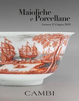 Vente Majolique et Porcelaine (Genova) chez Cambi Casa d'Aste : 224 lots