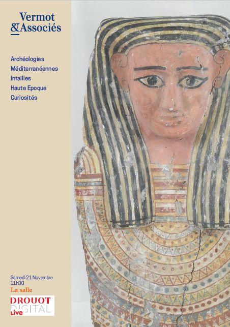 Vente Archéologies Méditerranéennes, Intailles, Curiosités, Asie - Vente à huis clos chez Vermot et Associés : 448 lots