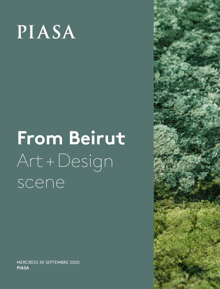 Vente From Beirut Art + Design scene chez Piasa : 179 lots