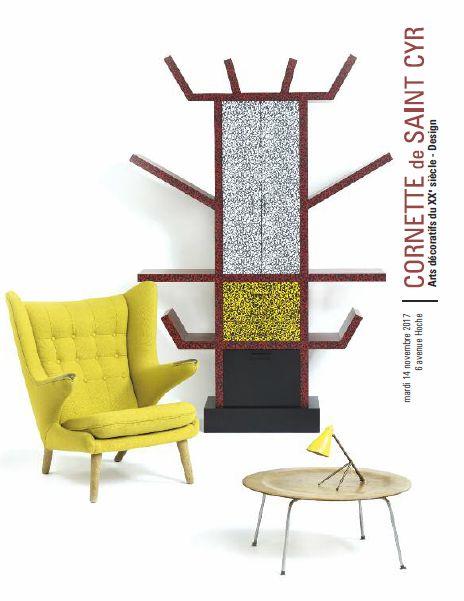 Vente Arts Décoratifs du XXe siècle - Design chez Cornette de Saint Cyr Paris : 253 lots
