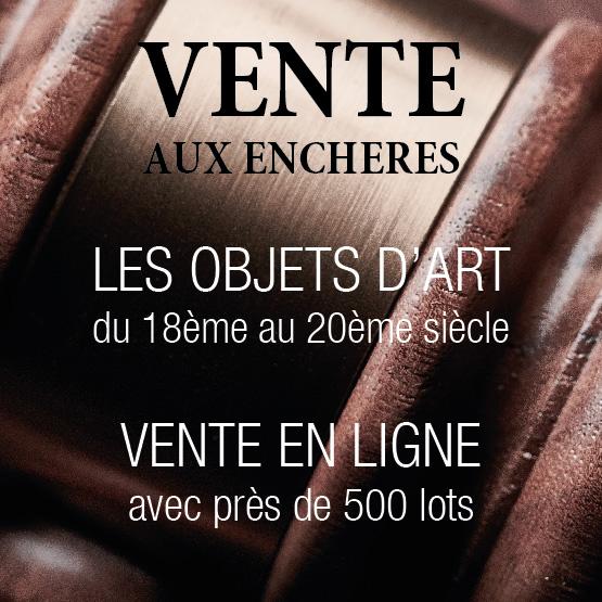 Vente Les Objets d'art du 18ème au 20ème siècle chez CHARLES-EMILE MOINAT & FILS SA : 460 lots
