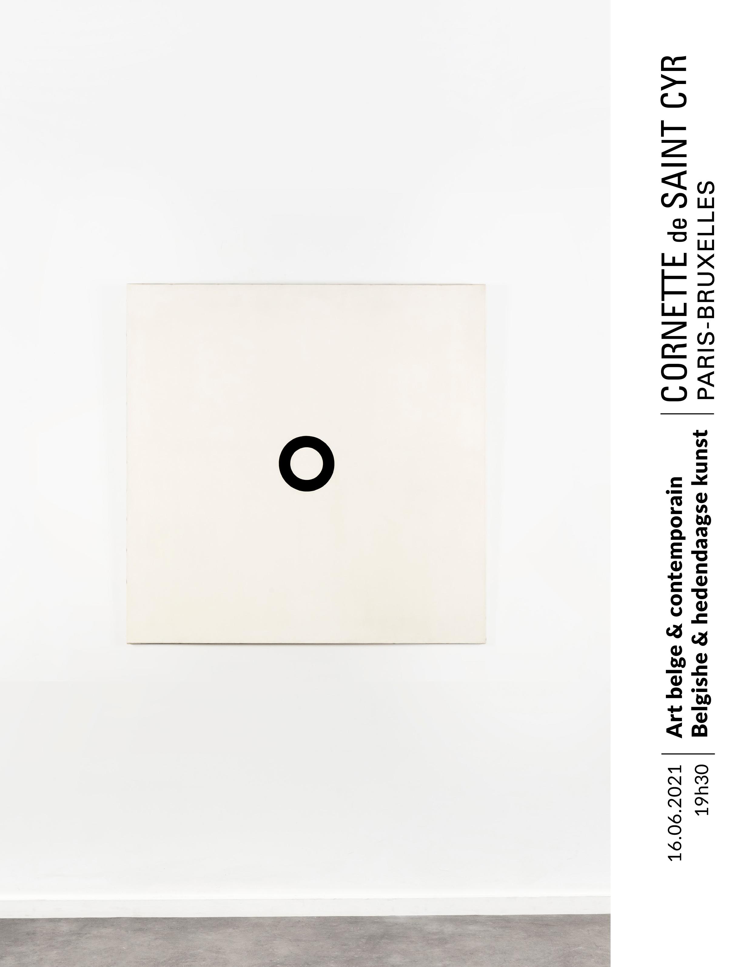 Auction Art Moderne Art Belge et Art Contemporain - Vente en Duplex - Paris-Bruxelles at Cornette de Saint Cyr Bruxelles : 40 lots