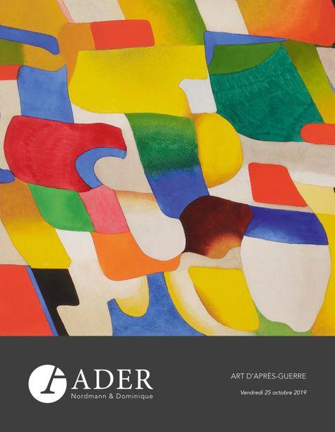 Vente Art Abstrait et Contemporain chez Ader : 251 lots
