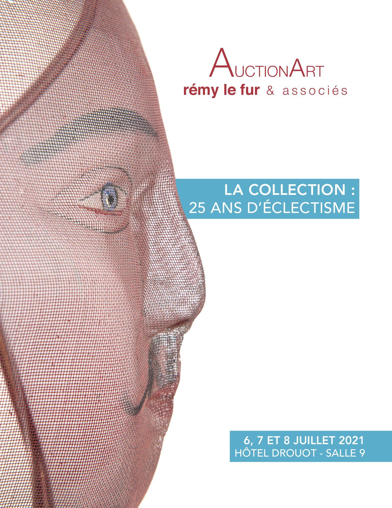 Vente La collection : 25 ans d'éclectisme  chez AuctionArt - Rémy Le Fur & Associés : 327 lots